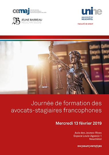 Journée de formation des avocats-stagiaires francophones