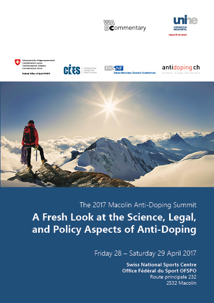 A Fresh Look at the Science, Legal, and Policy Aspects of Anti-Doping