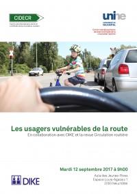 Les usagers vulnérables de la route