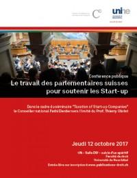 Le travail des parlementaires suisses pour soutenir les Start-Up