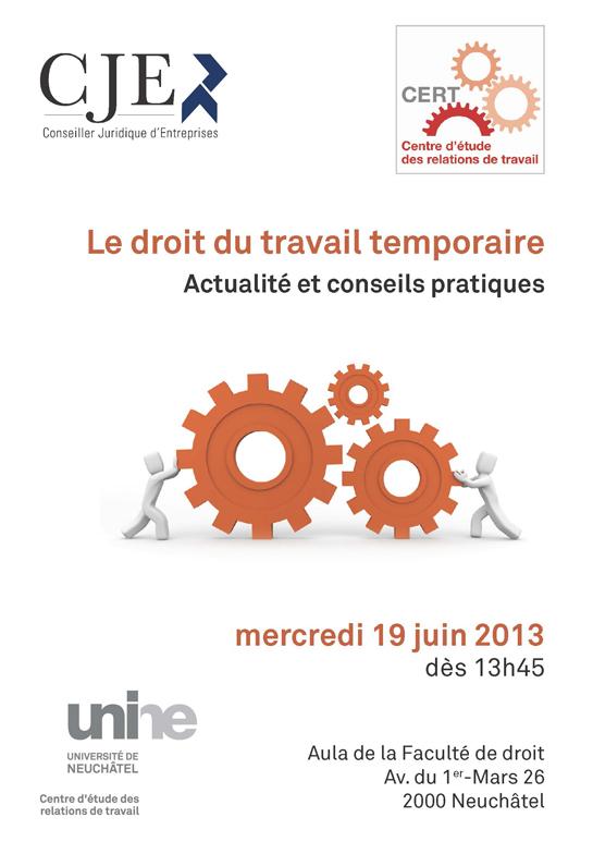 Le droit du travail temporaire - Actualité et conseils pratiques
