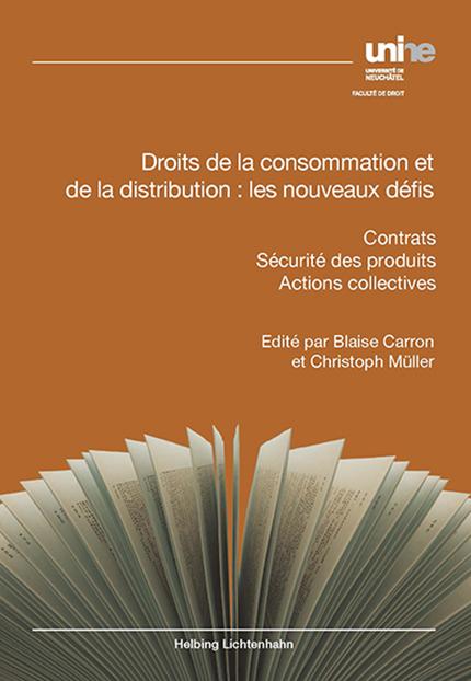 Droits de la consommation et de la distribution : les nouveaux défis