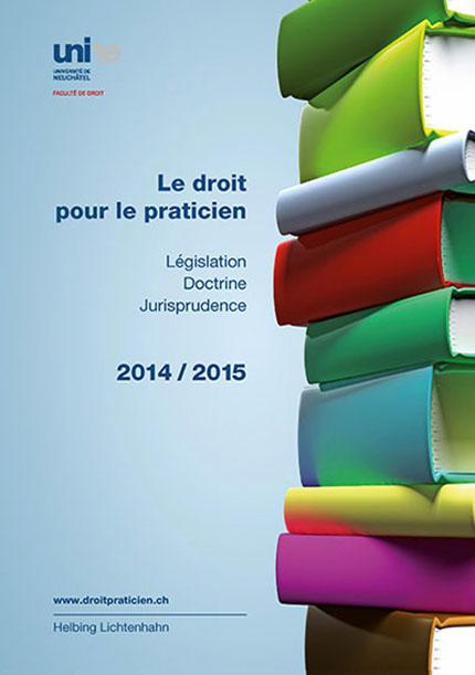 Le droit pour le praticien 2014-2015