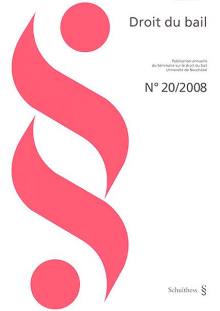 Revue Droit du bail 20/2008