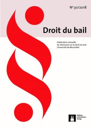 Revue Droit du bail 30/2018