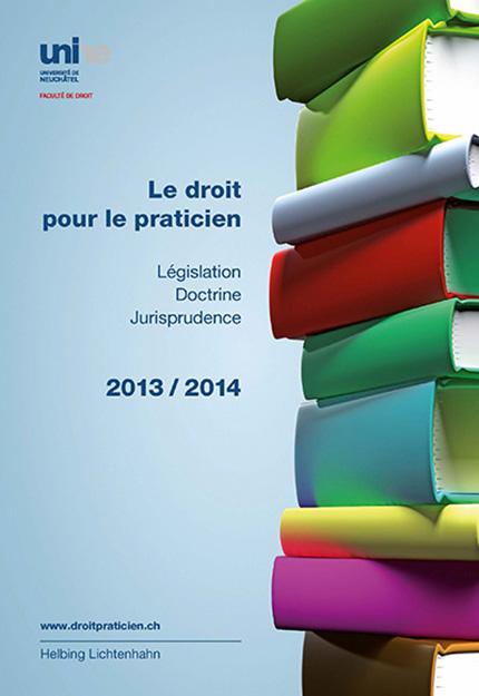 Le droit pour le praticien 2013-2014