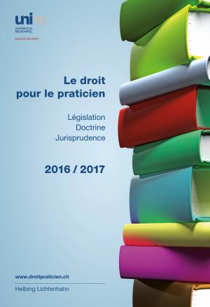 Le droit pour le praticien 2016/2017