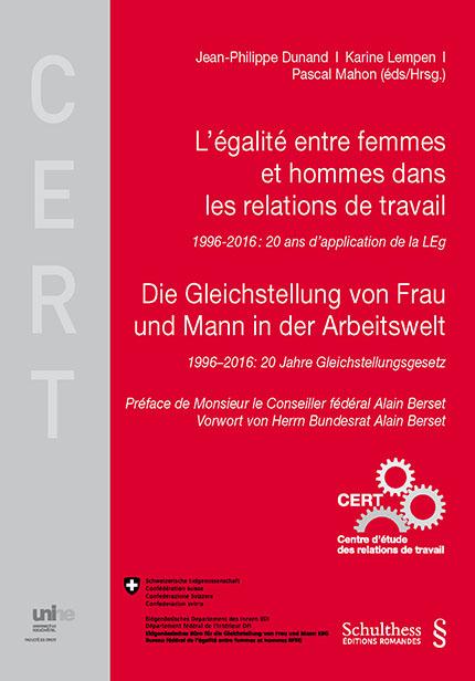L'égalité entre femmes et hommes dans les relations de travail