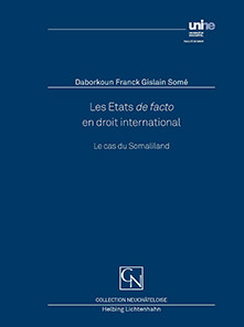 Les Etats de facto en droit international