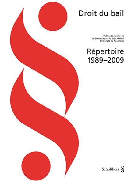 Bail - Répertoire 1989-2009