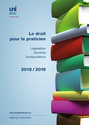 Le droit pour le praticien 2018/2019