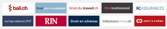 Retrouvez tous les liens internet indispensables aux praticiens du droit sur www.droitNE.ch