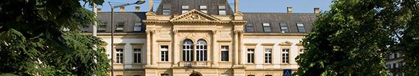 La Faculté de droit de l'Université de Neuchâtel